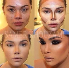 the power of contouring and makeup
