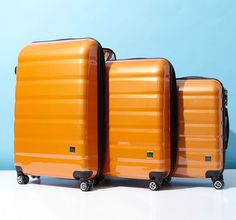 New to Gilt: Lotus Luggage -    Fabulous - spot your bag easily with this color!