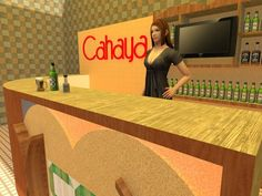 "3D Mini Bar ""Cahaya"" by Michael Christianto, via Behance"