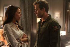 Blake Lively y Ryan Reynolds en Green Lantern