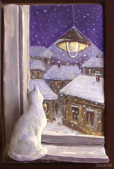 Night, street, lantern ...Elena Yushina