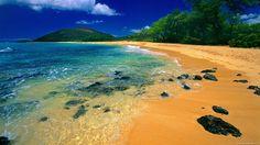 The dream *tahiti hawaii* Paradise Wallpaper, Beach Wallpaper, Nature Wallpaper, Tahiti Islands, Tropical Beaches, Maui Hawaii, Island Beach, Tropical Paradise, Beach Waves