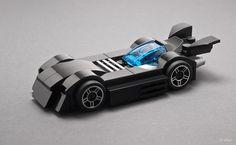 Micro LEGO Batmobile