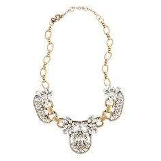 J.Crew crystal cluster necklace. Love it. Love it. Love it. And now thanks to my jewelry-obsessed mother, it's mine!