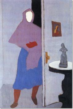 milton avery | Milton Avery - Woman With Rebozo by Milton Avery | Painting