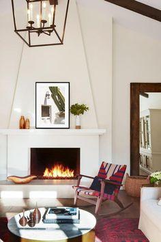Spanish Revival Home, Spanish Style Homes, Spanish House, Spanish Style Interiors, Spanish Living Rooms, Spanish Style Decor, Spanish Bungalow, Boho Glam Home, Home Fireplace