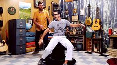 Rhett McLaughlin and Link Neal / Rhett & Link Funny Things, Funny Stuff, Good Mythical Morning, Ghost Adventures, Lifelong Friends, Streamers, Youtubers, Beast, Daddy