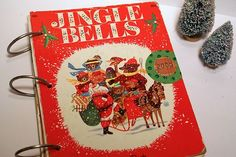 Last year, my friend Brianna and I came across a bunch of old Christmas themed Golden books to remake into vintage album kits. We had a bunc...