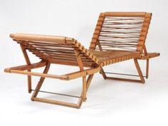 Chaise longue Pippa. Créée en 1988 par Rena Dumas pour Hermès. Pour ma future piscine à débordement, au large de la baie d'Ipanema...