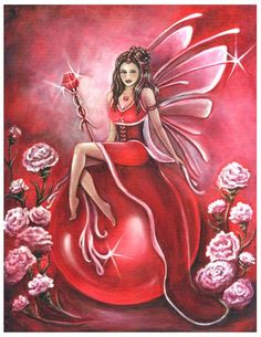 What Is January Birthstone | Birthstone Fairy - January - Garnet