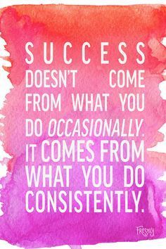 Daily Fitness Motivation: Success doesn't come from what you do occasionally., Daily Fitness Motivation: Success doesn't come from what you do occasionally. Daily Fitness Motivation: Success doesn't come from what you do . Life Quotes Love, Quotes To Live By, Me Quotes, Diary Quotes, Diet Motivation Quotes, Motivation Success, Motivation Pictures, Exercise Motivation, Daily Motivation