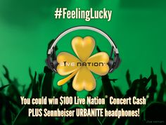 The Feeling Lucky Live Nation Giveaway
