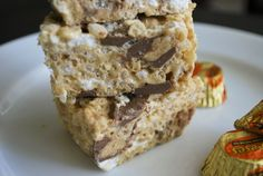Mallow and Co.: Reese's Peanut Butter Cup Rice Krispies