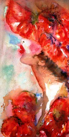 Aquarelle. Tonio Klay Galerie d'Art en ligne