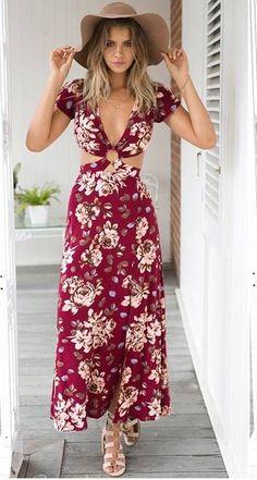 Vestido Longo Aberto nas Costas - Compre Online | DMS Boutique