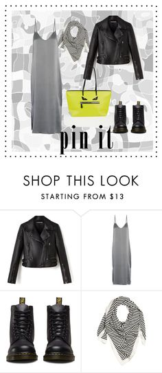 """""""grunge city style"""" by tatiana-touraeva on Polyvore featuring Equipment, Dr. Martens and Fendi"""