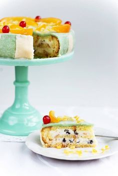 A ricotta-layered sponge cake soaked in liquor and covered in marzipan.This cake is usually elaborately decorated with candied fruits, nuts, and marzipan, making it hard to cut the first slice. (But not that hard because YUM. Pudding Desserts, Custard Desserts, Dessert Recipes, Italian Cake, Italian Desserts, Italian Cookies, Food Cakes, Cupcake Cakes, Plated Desserts