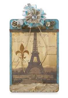 French Vintage Clipboard