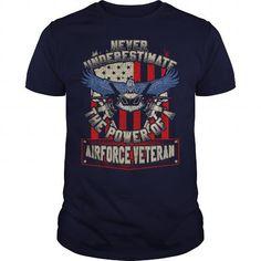 Awesome Tee Air Force Veteran Shirts & Tees