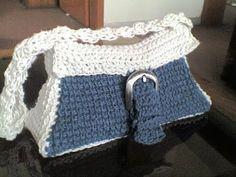 Free Crochet Indigo bag Pattern.