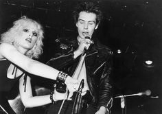 Sid Vicious and Nancy Spungen.