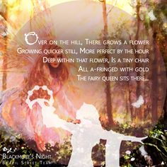 """Candice Night writes wonderful lyrics, the images come to mind like a movie """"Farie Queen"""" - Blackmore's Night (Ritchie Blackmore / Candice Night) https://www.youtube.com/watch?v=inath9I4xc0"""