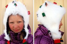 Sara Svonni design Gihcenáhkegahpir Saami hat