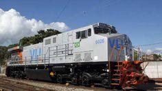 Locomotiva  da  VLI  (Vale) Brasil