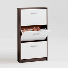 Fancy Shoe Storage Cabinet   -- so this, but shorter...