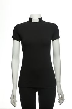 Casual Priest - EVA black short sleeve