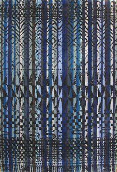 Karpet Fusion Reprise Blauw