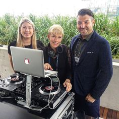 The power behind @girlonwax entertainment. @djleanne sets the background tone royally.  #music #dj #entertainment #event #vancouver #entrepreneur