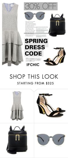 """""""SPRING DRESS CODE: 30% OFF"""" by ifchic ❤ liked on Polyvore featuring Edit, Dee Keller, Karen Walker and contemporary"""