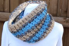 Chunky Knit Cowl Pattern for bulky yarns