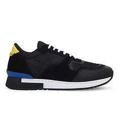 GIVENCHY Active Suede Runner Sneakers. #givenchy #shoes #sneakers