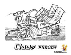 Les 10 Meilleures Images De Tracteur Tracteur Coloriage