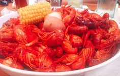 Crawfish (mud bugs). Some say they are early I think they're right on time!