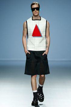 "David Delfín Spring/Summer 2015. ""THE TIME OF MONSTERS"". Mercedes-Benz Fashion Week Madrid."