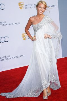 Blake Lively at The Duke and Duchess of Cambridge at the BAFTA Brits To Watch Gala held at the Belasco Theatre in Los An