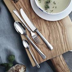 Copenhagen mirror cutlery set from Georg Jensen by Grethe Meyer Kitchenware, Tableware, Cutlery Set, Flatware, Danish Design, Copenhagen, Vintage, Mirror, Dining Room