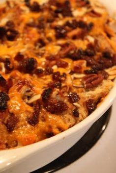 Jeff's Plate: Capirotada - Mexican Bread Pudding