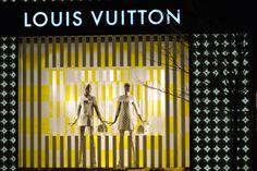 Louis Vuitton windows 2013, Toronto visual merchandising