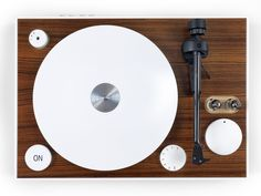 ON turntable by gpinto combines classic elements with modern technological features