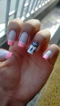 23 Cute Uniqorn Nail Art Designs For Kids Gorgeous Nails, Perfect Nails, Love Nails, Pretty Nails, My Nails, Simple Nail Art Designs, Easy Nail Art, Nail Designs, Magic Nails