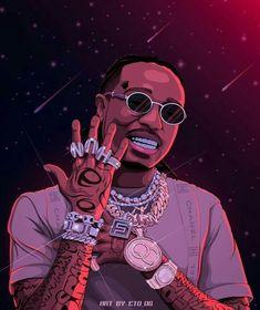 Arte Do Hip Hop, Hip Hop Art, Dope Cartoons, Dope Cartoon Art, Rap Wallpaper, Graphic Wallpaper, New School Hip Hop, Tupac Art, Arte Dope