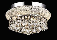 crystal flush mount light kl-41035-12-c