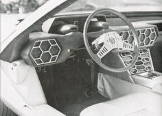 Lamborghini Marzal - cockpit