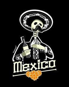 Proud to be mexican Mexico Art, Cool Wallpapers For Phones, Mexican Skulls, Chicano Art, Skull Art, Logo Design Inspiration, Illustrations Posters, Vintage Posters, Pop Art