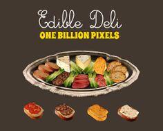 One Billion Pixels: Edible Deli