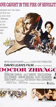 Doctor Zhivago official sites, and other sites with posters, videos, photos and more. Beau Film, Dr Zhivago Movie, Doctor Zhivago, Dr Zivago, David Lean Films, Top Rated Tv Shows, Tom Courtenay, Film Doctors, Carlo Ponti